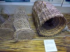 Fish traps in the Lake Cernica Museum (ali eminov) Tags: goricice museums fishtraps slovenia cerknica lakecerknicamuseum