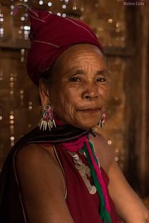 Portrait of a Kayah Woman