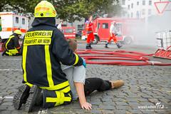 """Katastrophenschutzübung """"Frankopia 2017"""" Osthafen Frankfurt 30.09.17 (Wiesbaden112.de) Tags: atemschutz dekon feuerwehr frankfurt gefahrgut grosübung kats katastrophenschutz kellerbrand osthafen rettungsdienst thw unfall übung"""