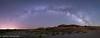 Alien Eggs (OJeffrey Photography) Tags: bistibadlands newmexico nm milkyway starscape stars panorama pano alienhatchery crackedeggs ojeffreyphotography ojeffrey jeffowens nikon d800