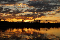 The Dark Horizon (Jim Atkins Sr) Tags: sunset northcarolina northwestcreek spectacularsunsetsandsunrises clouds cloudscape cloudsstormssunsetssunrises creek fairfieldharbour sony sonya58 sonyphotographing sky