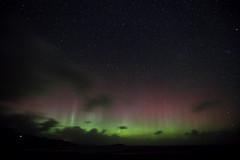 Northern Lights 2 of 2 (Steve Balcombe) Tags: aurora northern lights staffin bay skye scotland uk