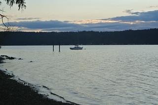 Olympic Mountain Dreams day 4 - Hood Canal sailboat