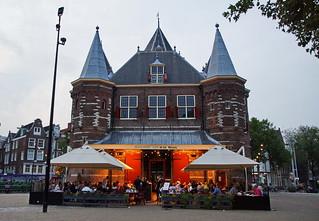 Restaurant Café in de Waag Amsterdam