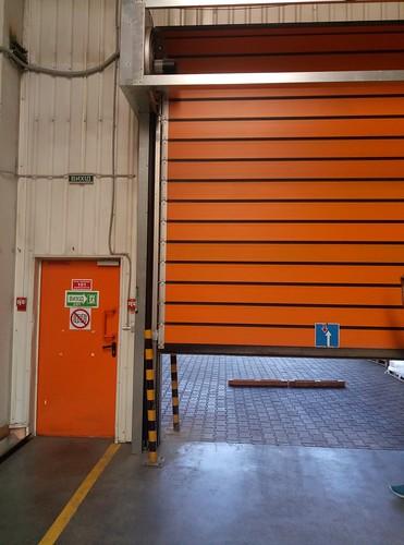 Швидкісні ворота.  Україна. Вінниця .Скоростные ворота. Hi speed doors. Efaflex. EFA SST