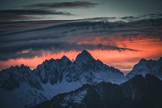 Alpenglow.