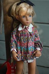 Harlequin (Emily1957) Tags: juliankalinowski harlequin sashamorgenthaler sashadolls vinyl repaint eyes handpainted dolls doll toys toy guitar toyguitar light naturallight nikond40 nikon kitlens