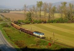 Mezőlaborci tolatós by bencecsoma - 752 023 rotyog a mezőlaborci tolatóssal Udva (Udavské) közelében.