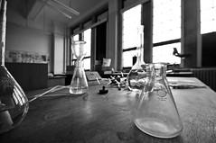 _DSC7146a (alfplant2009) Tags: laboratory flask bench bw blackandwhite