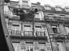 Acrobate (Marc Fievet) Tags: agilité vélo cycle cycles bruxelles journéesansvoiture voiture journée sans belgique dimanche boulevardducentre boulevardsducentre actionludique tourisme promenade olympusomd5mkii olympus populaire acrobate acrobatie saut sauts noiretblanc noir blanc
