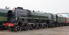 IMG_0171 Crewe heritage centre 2013 (Dennis Swaby) Tags: train steamlocomotive steamengine crewe 71000 dukeofgloucester