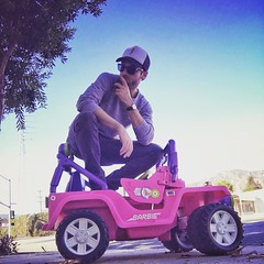 never not ridin' dirty... @ Los Angeles, California https://t.co/XZ4pAOBvKc - Posted by Ross Marquand (Aaron) (WalkingDeadCast) Tags: aaron alexandrians