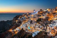 Santorini sunset, Greece (BestCityscape) Tags: greece santorini travel city building sunset