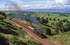 45407 At Birkett Tunnel. 10/07/2005 (briandean2) Tags: 45407 birketttunnel settlecarlislerailway thedalesman steam railways uksteam ukrailways h