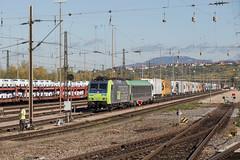 BLS Re 485 010 Weil am Rhein (daveymills31294) Tags: bls re 485 010 weil am rhein baureihe cargo traxx
