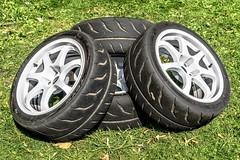 No wheels on my wagon (John Tif) Tags: 2017 crystalpalace wheels car motorspot