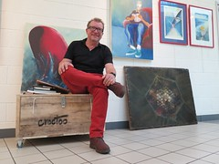 Espace Jean Burget Niort, septembre 2017 (Croctoo) Tags: croctoo croctoofr croquis peinture pastels