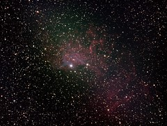 IC405 Flaming Star Oct22 (howarj) Tags: ic nebula astronomy astrophotography asi1600mc astrophoto stars