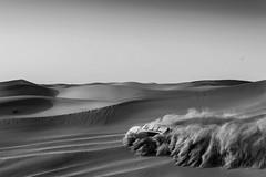 Desert Safari (Madhusudanan Parthasarathy) Tags: abudhabi desertsafari desert landscape landcruiser toyota car suv 4wheel desertride blackandwhite uae gulf middleeast nikon d750 2017 madhusudananparthasarathy