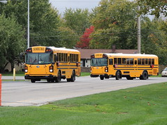 School Town of Munster (Nedlit983) Tags: school bus blue bird all american t3 re