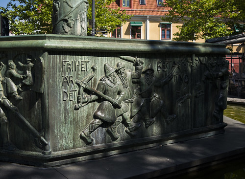 Fountain at Larmtorget