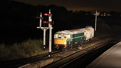 On to the main (Duck 1966) Tags: emrps swanwick mrb mrc crompton class33 nightime