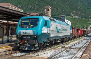 Steeltrain through Bozen