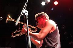 Christian Scott @ Les Nuits Botanique 2016 (Rick & Bart) Tags: christianscottmei2016 lesnuitsbotanique live concert brussel bruxelles jazz funk music christianscottatundeadjuh christianscott trumpet canon eos70d rickvink rickbart