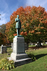 Lakeview Cemetery, Burlington, VT (robincagey) Tags: vermont newengland autumn fall october foliage lakeviewcemetery cemetery graveyard victorian gravestone burlington