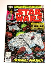star wars issue 41 november 1980 marvel comics comic book (tjparkside) Tags: star wars issue 41 forty one nov november 1980 marvel comics comic book books tesb empire strikes back esb episode five 5 v imperial pursuit destroyer millennium falcon rebel rebels official adaptation droid droids r2d2 r2 d2 c 3po c3po spiderman
