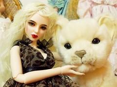 For the fun 2 (Antiphane) Tags: bjd souldoll soulkid kuu resin doll poupée résine peluche plush lion
