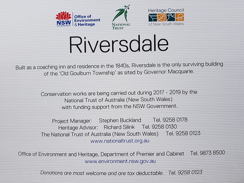 Riversdale, an historic home in Goulburn