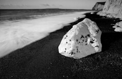 White Rock by Durdle Door (www.davidrosenphotography.com) Tags: beach rock coast seascape dorset durdledoor lulworth sea longexposure blackwhite