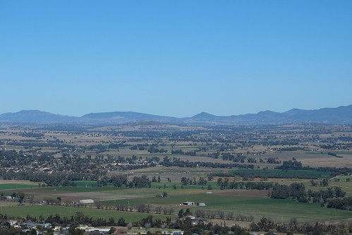 Flood plains, from Oxley Lookout