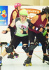 010 (Bawdy Czech) Tags: lava city roller dolls lcrd cinder kittens juniors cherry blossoms bend oregon october 2017 derby flat track skate