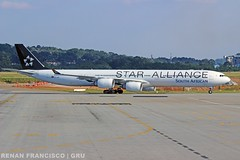 ZS-SNC (renanfrancisco) Tags: southafricanairways saa sa zssnc staralliance aeroporto airport airlines aeropuerto airbus a340 a340600 a346 airbusa340600 airbusa340 gru gruairport sbgr guarulhosairport spotting