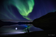 Fantasy land (Dan F Skovli) Tags: skovli fatbike lumens headlamp bikes ngs burfjord kvænangen norge north autumn aurora northernlights nordlys canon6d canon tamron frost