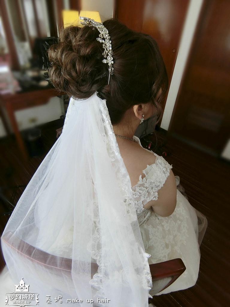 【新秘蓁妮】bride瑞瑜 訂結婚造型 / 台中福華大飯店