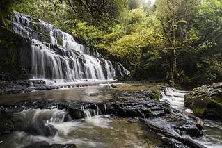 Purakaunui Falls - Catlins, Otago New Zealand