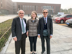 171028 EAEH @ Nankai U-02.jpg (Bruce Batten) Tags: plants trees locations nankai tianjin trips occasions vehicles subjects campuses buildings friendsacquaintances automobiles businessresearchtrips china people tianjinshi cn