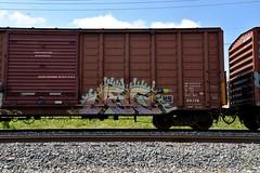 Jec 63 (Big B Bench) Tags: jec 63 jec63 itd t circle graffiti freight
