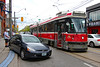 Messy crash (Can Pac Swire) Tags: car auto automobile ttc streetcar tram crash queenstreet east broadview avenue 20170522 2017 may 22 honda hyundai 2017aimg8993 special custom licence license plate number toronto ontario canada canadian accident road