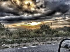 Good morning!! (quimserra1) Tags: catalonia iphone happydays sunny road life flickr goodmorning