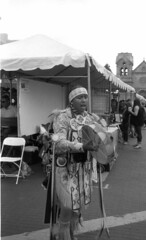 native American singer (bergytone) Tags: film bw blackandwhite kentmere 100 xtol kodak bantam 828 folding vintage