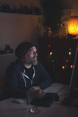concentration... (CatMacBride) Tags: scott computer portrait