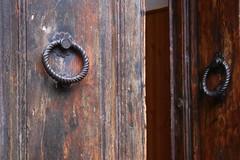 The Door (majamacanovic) Tags: door old minimalism wooden tuscany ring
