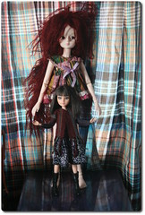 Slightly obsessed /aka nothing to wear/ (roroDolls) Tags: bjd secondhanddoll dollcomparsion cosette doll
