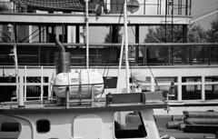 (toulouse goose) Tags: film ilford xp2 super 400 35mm canon eos elan7 tamron af 70300mm 456 zoom blackandwhite c41 epson v500 toronto harbour island ferry