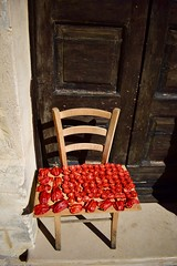 Sundrying (ellawhiteley) Tags: food tomatoes foodphotography sundriedtomatoes street streetphotography chair rustic italy matera basilicata ellawhiteley