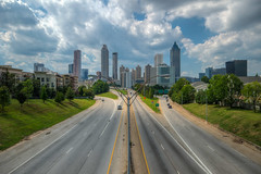 The Road to Atlanta (ap0013) Tags: atlanta georgia skyline city cityscape atlantageorgia atlantaga jacksonstreetbridge jackson street bridge